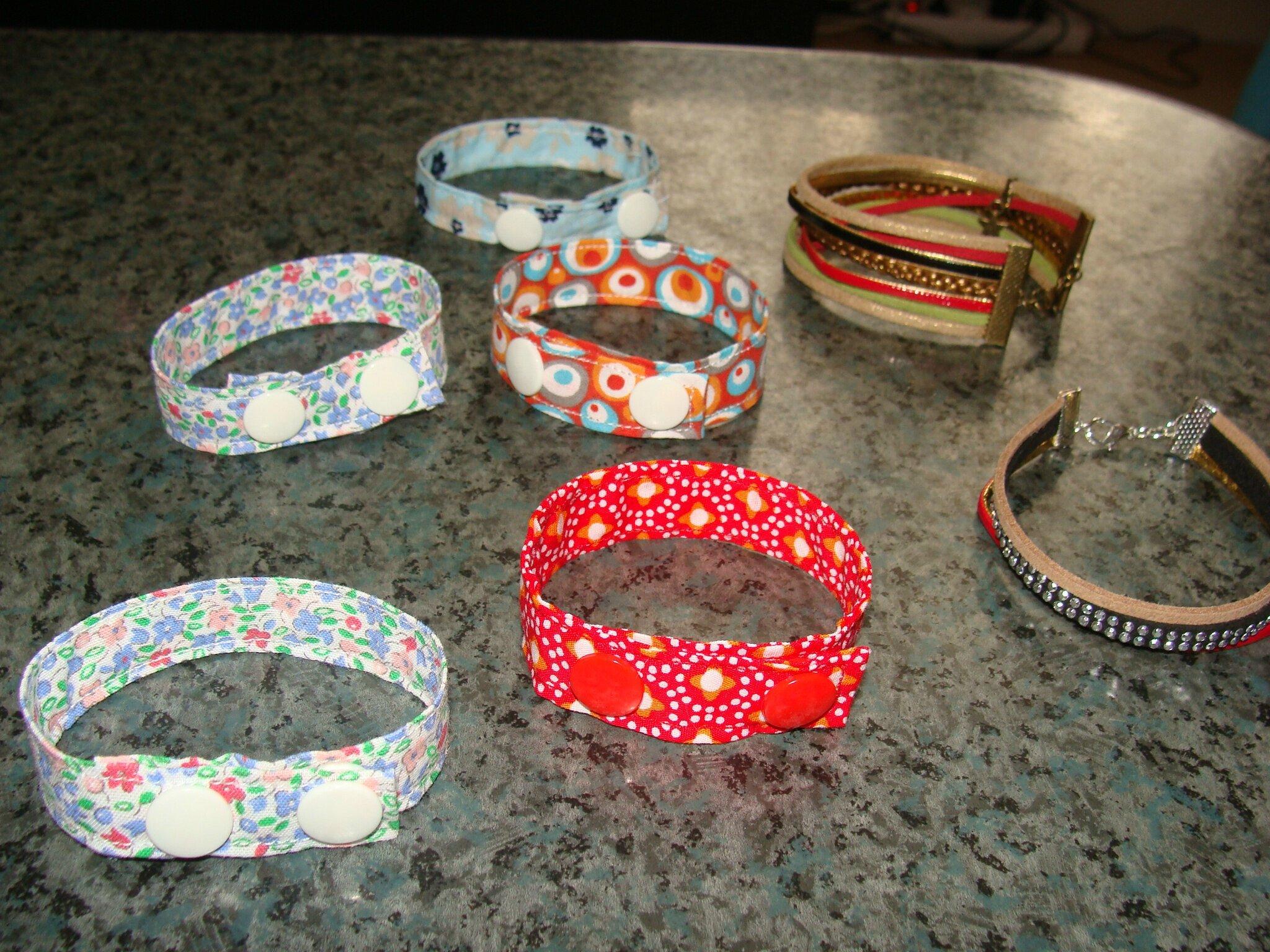 ribambelle de bracelets