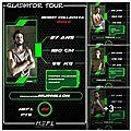 Historical european fighting league gladiator tour