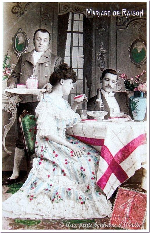 Le mariage au début du siècle (3)