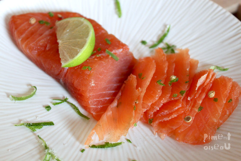 stock photo gravlax de saumon au sucre d gravlax is marinated salmon ...