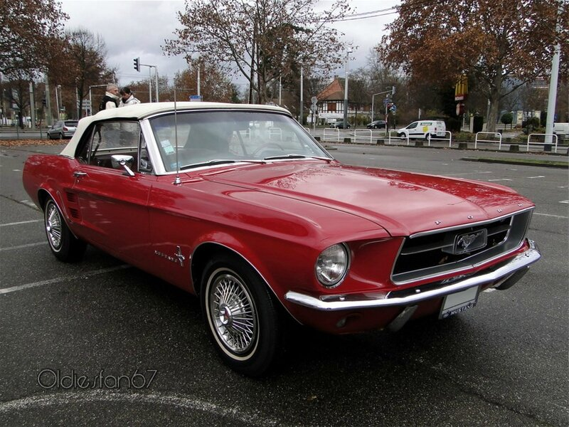 ford mustang hardtop coupe 1967 a
