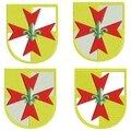 232 insigne europa scout contour satin évidée