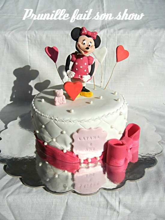 minnie mouse cake prunillefee 2