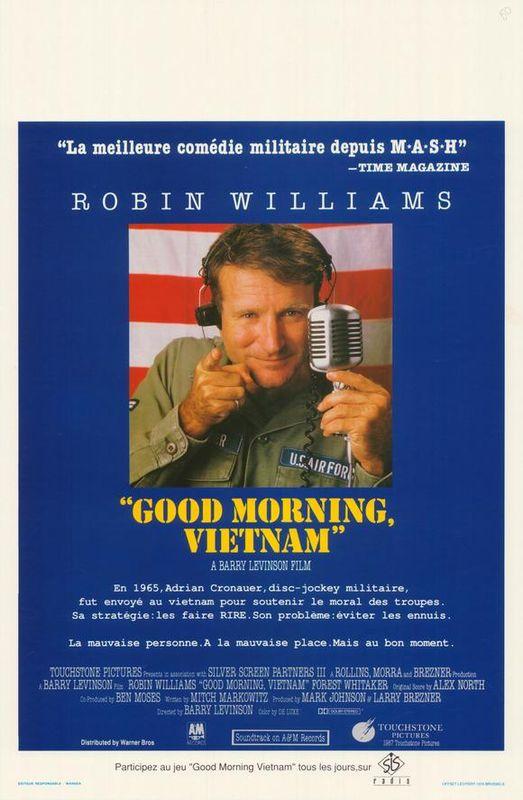 Good Morning Vietnam Disney : Good morning vietnam quand les films de walt disney s