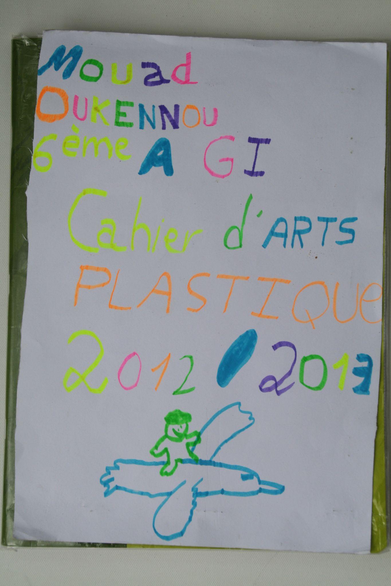 Art Plastique 6ème Cahier D'arts-plastiques
