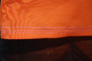 detail robe violette