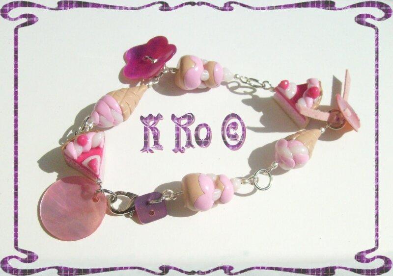 bracelet fermé à 1 anneaux