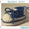Basket mini crochet tuto