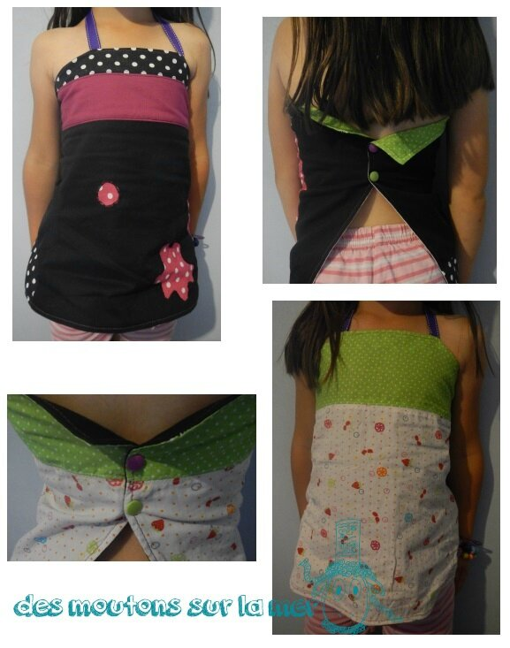 bustier fillette