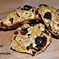 Cookie aux canneberges