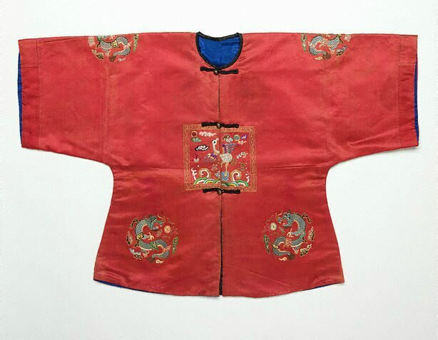Child's surcoat with third rank badge, Viet Nam, Nguyen dynasty, circa 1825
