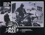 Mad Max lobby card australienne 7