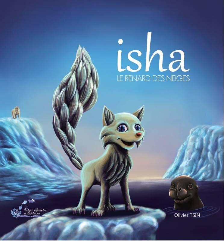 Isha le renard des neiges