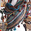 Chale crochet ou tricot modulaire