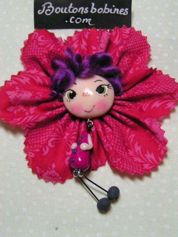 fushia violette