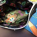 Couture : trousse calaveras home made - tuto inside