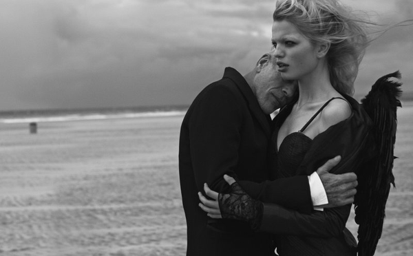 Daphne Groeneveld by Peter Lindbergh for Numéro #126 02