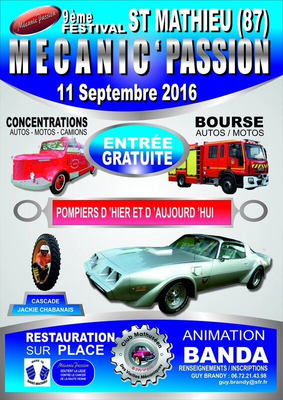 BAT MECANIC PASSION 2016 BLEU MODIFIE