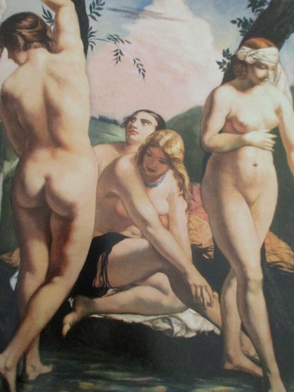 Les Nues (baigneuses) 1926 détail