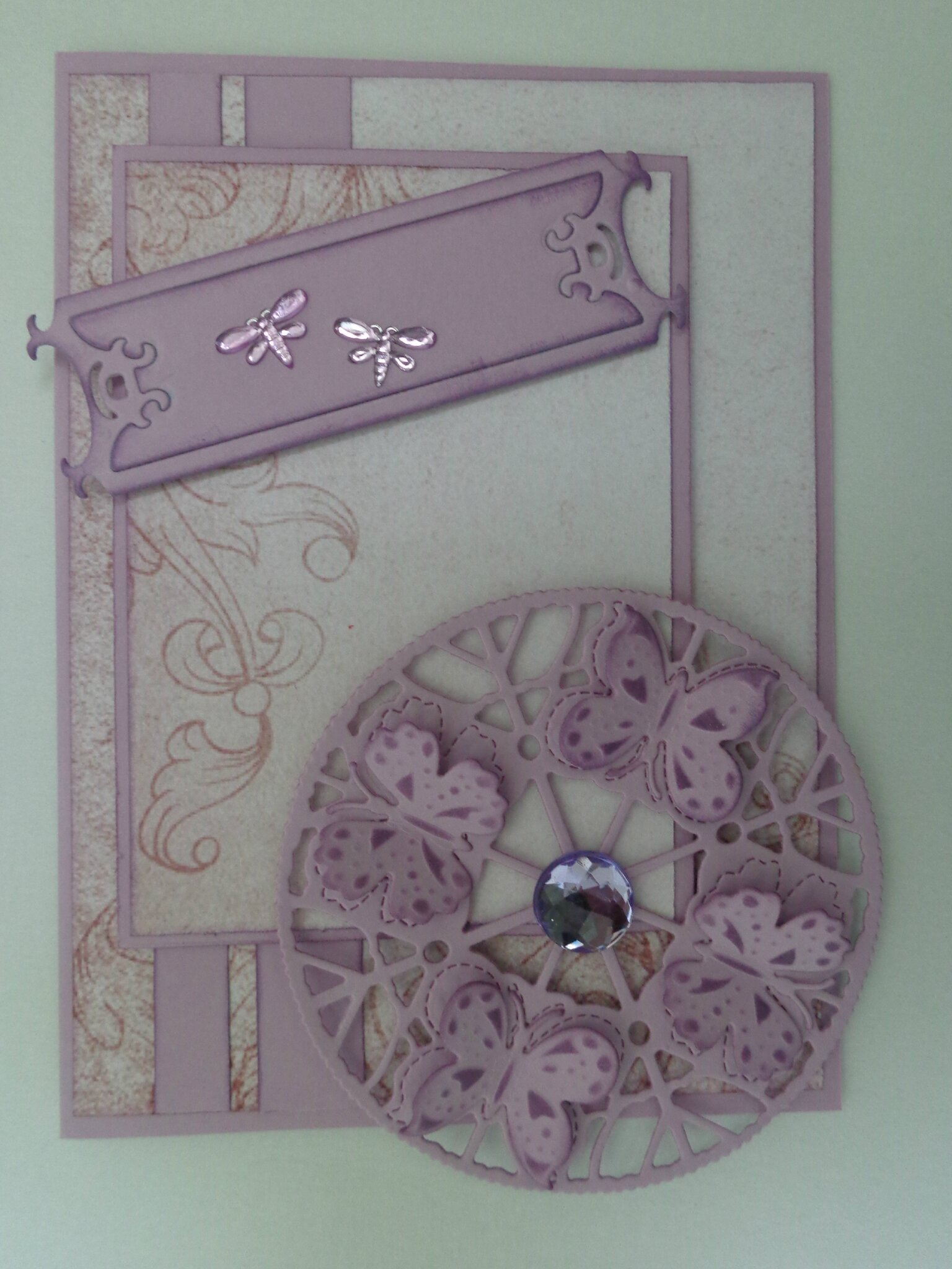 Carte fantasy butterflies