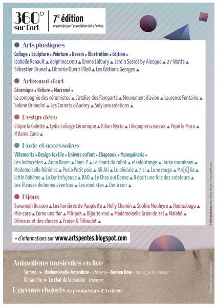 verso 360°sur l'art 15 et 16 décembre 2012