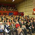 Un public nombreux est venu écouter le parrain du Salon