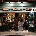 Aux bons crus, un endroit parisien charmant