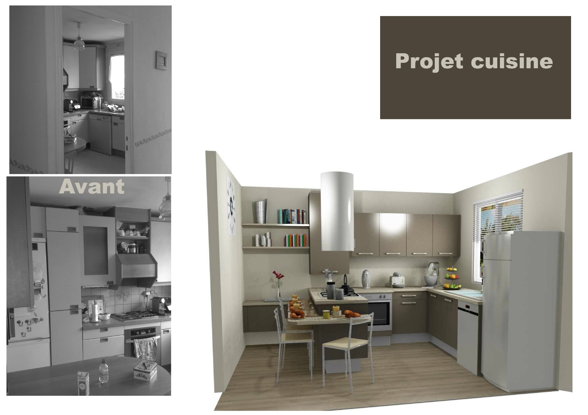 Cuisine projet 95 am lie pell architecte d 39 int rieur for Architecte d interieur 95