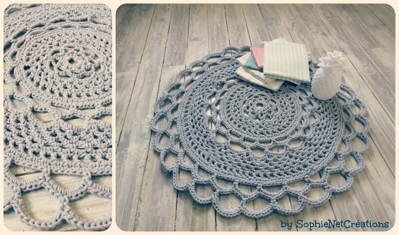 Collage tapis crochet 2