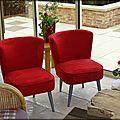 Il était une fois. . . deux petits fauteuils rouges