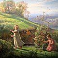Louis Janmot : Le printemps
