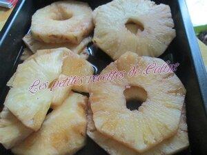 Ananas caramélisé au gingembre09