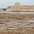 Nord de gozo: marais salants et qbajjar bay