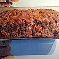 Notre cake apéro réalisé grâce à notre degustabox 🍆🌮🥖🌽