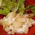 Pommes de terre à l'étouffée et cancoillotte