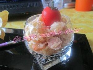 Verrine de Riz Surimi Crevettes et Ananas24