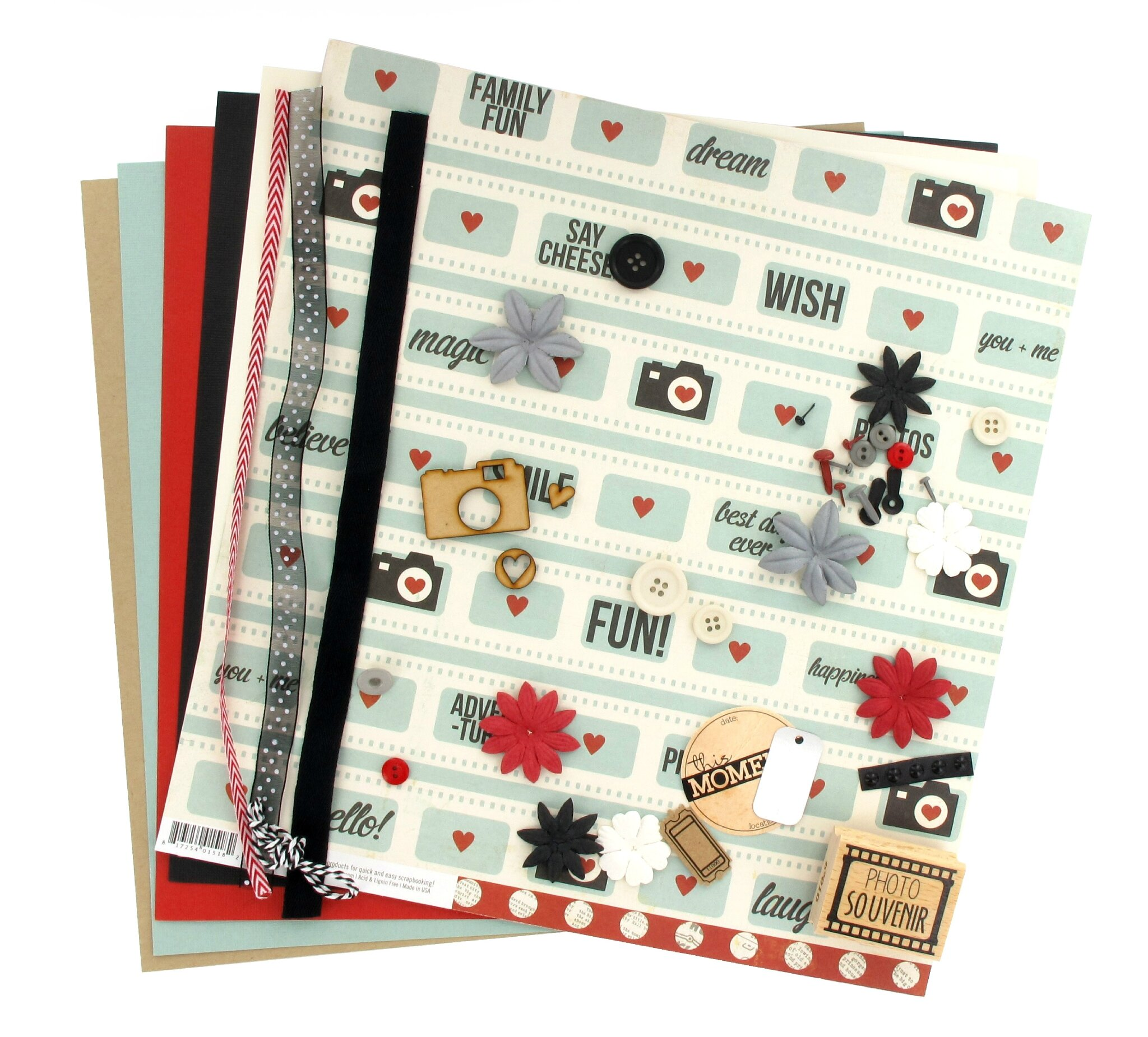 "Kit Multi*Pages d'avril ""Clic clac"", Sam"