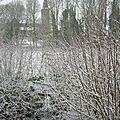Seconde neige...