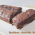 Moelleux au chocolat et au halva (sans gluten)