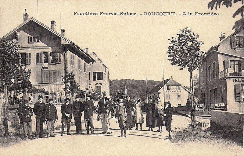 CPA Boncourt La frontiere