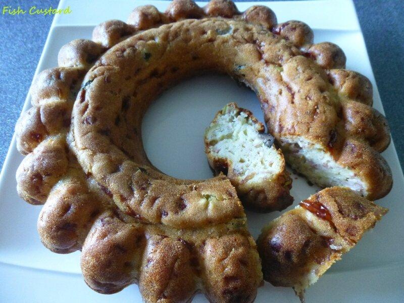 Cake de Sophie jambon olives (4)