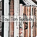 Top ten tuesday # 78