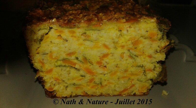 Healthy cake aux légumes - 6