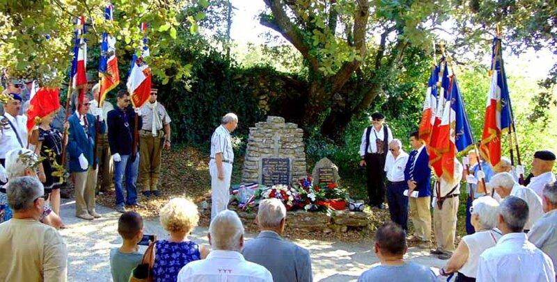 Cérémonie du Beaucet, 2 août 2015
