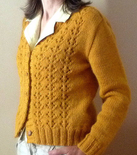 mis marple cardigan photo2