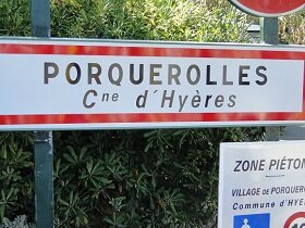 une journée à Porquerolles (Var/ Provence)
