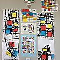Mondrian, oui encore à la maternelle ...