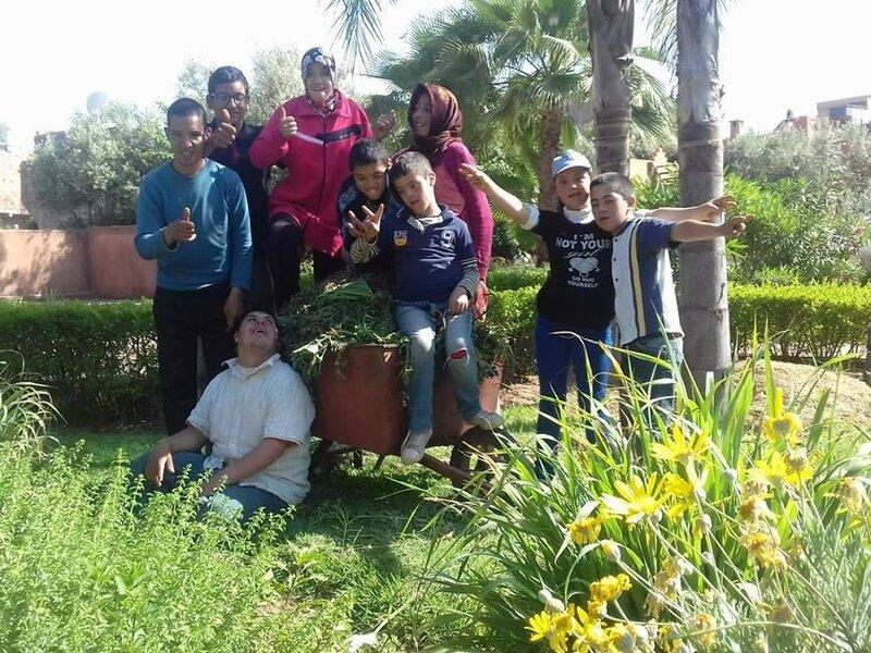 l'équipe des jardiniers