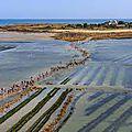 Les traversees de tatihou ou la marée basse normande devant la bretagne
