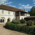 Abbaye de Saint Gilbert (Allier 20kms nord de Vichy)